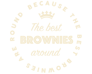 The best brownies are round