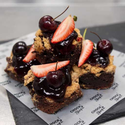 Black Forest Crumble